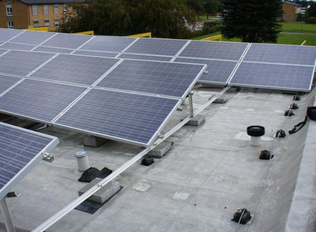 Vortex Energy Polska - Park Solarny Blume Hauptgebäude