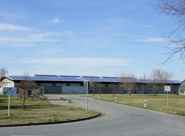 Vortex Energy Polska - Park solarny Scheune Peritz