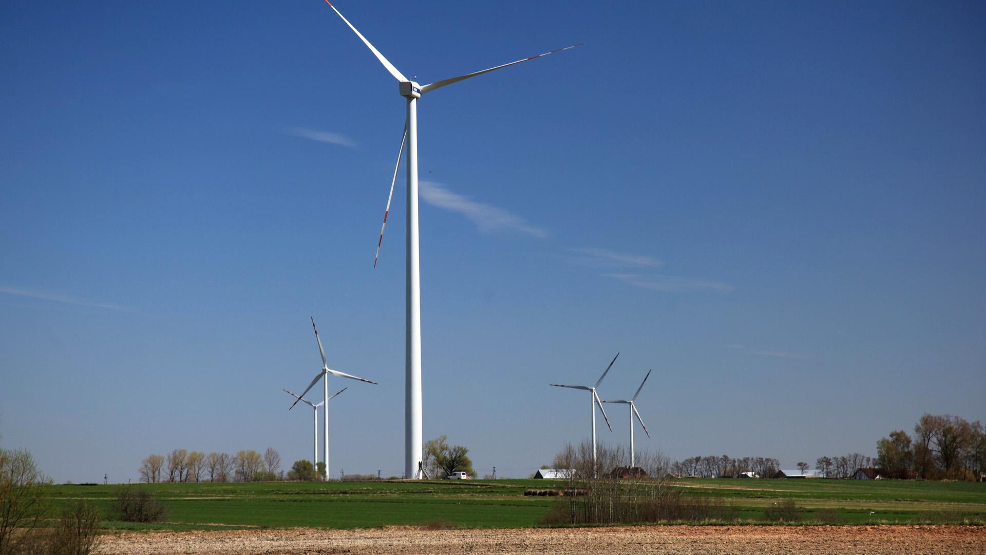 Vortex Energy Polska - Park wiatrowy Sieradz