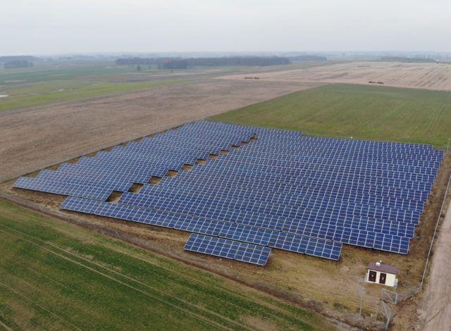 Vortex Energy Polska - Park solarny Tułowice
