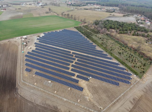 Vortex Energy Polska - Park solarny Komorów